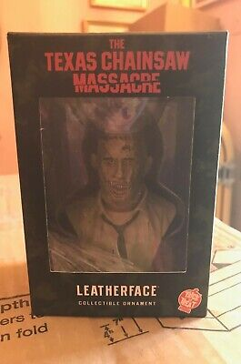 Holiday Texas Chainsaw Massacre Leatherface Ornament TOT's Officially Licensed  - Chainsaw Halloween