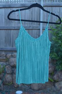 Turquoise Sparkly Top