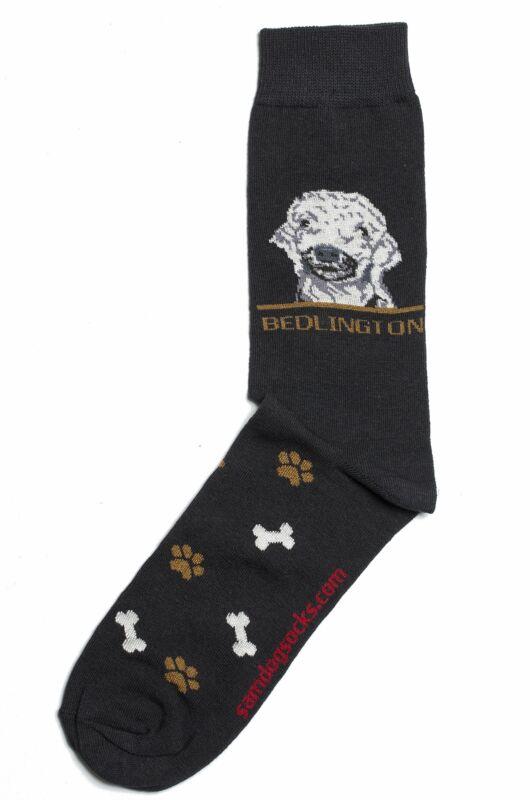 Bedlington Terrier Dog Socks Mens