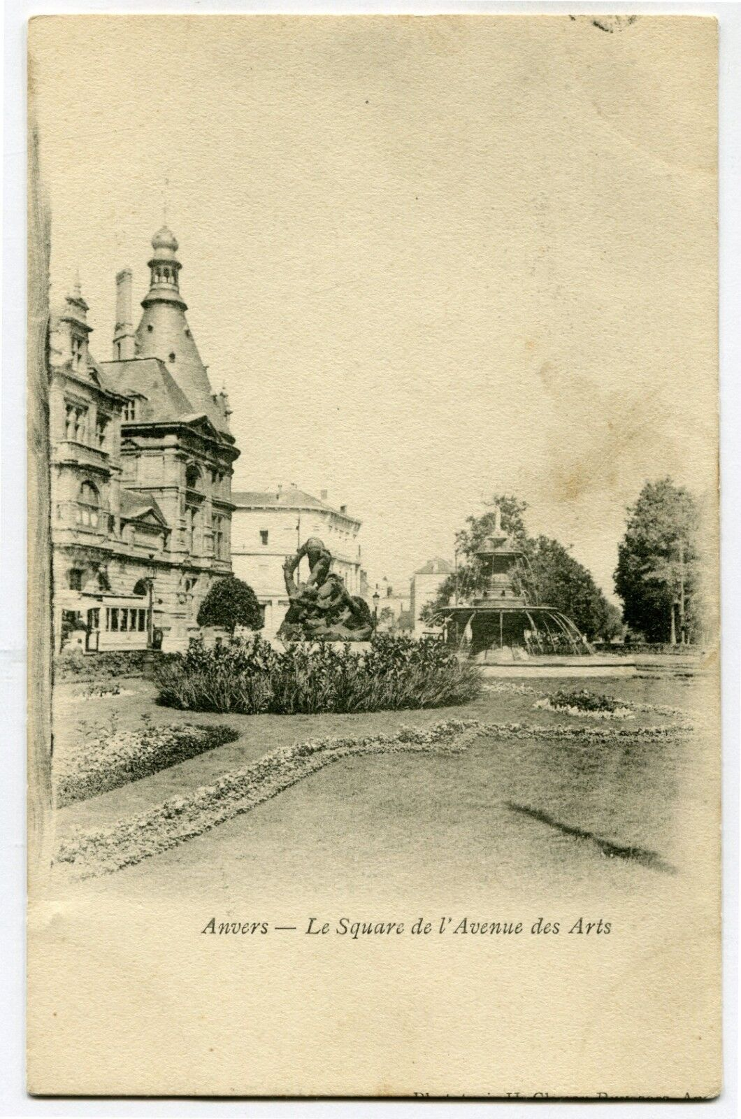 CPA - Carte Postale - Belgique - Anvers - Le Square de l'Avenue des Arts