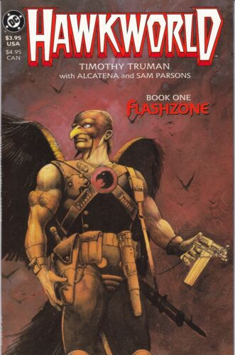 1989 Hawkworld #1 of 3 Flashzone NM+ unread Hawkman DC Comics