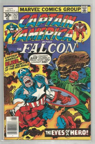 CAPTAIN AMERICA # 212 * MARVEL COMICS * 1977 * JACK KIRBY story & art