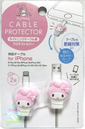 SANRIO My Melody KAWAII iPhone Lightning Cable Protector Protective Cover 2 pcs