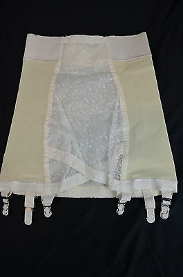 Vintage Flirtation Walk by BESTFORM Open Bottom Girdle with Garters ~ Sz L
