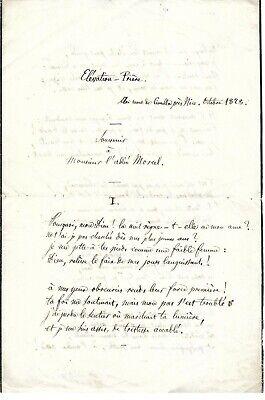 """CHARLES ROMEY HISTORIEN POÈTE ET TRADUCTEUR (""""LA CASE DE L'ONCLE TOM"""")"""