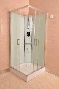 Shower Cubicle With Glass Wall 900x900x2000mm New Thomastown Whittlesea Area Preview
