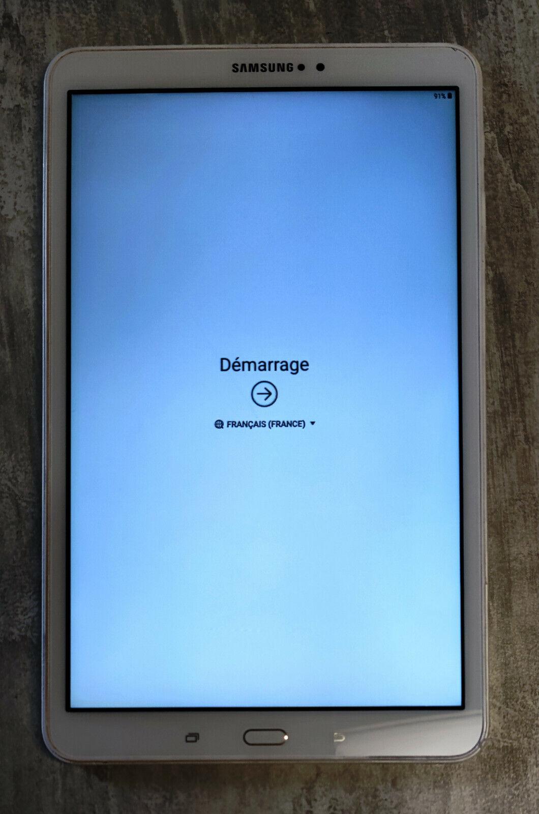 Ecran lcd tablette samsung tab a6 sm-t580 blanc