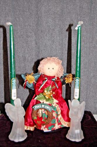 Angel Candleholder & Tree Topper XM449