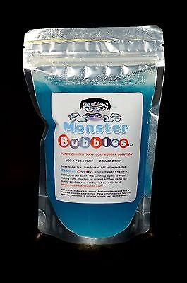 Monster Bubbles Big  Ihuge  Giant Soap Bubbles  1  Pouch Of Soap Bubble Solution