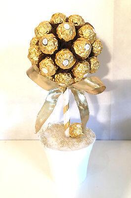 Rocher Pralinen Baum mit 30Stück Größe 1 Geschenk Geburtstag Valentinstag