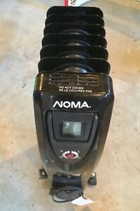 NOMA Oil Filled Heater, Black
