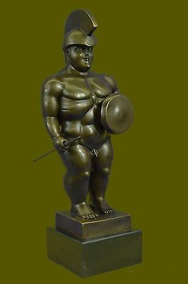 Handcrafted Bronze Sculpture Abstract Fernando Botero Statue Deals Figurine Ef