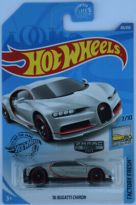 2020 Hot Wheels '16 Bugatti Chiron Zamac Walmart Exclusive Mint on Near Card WOW