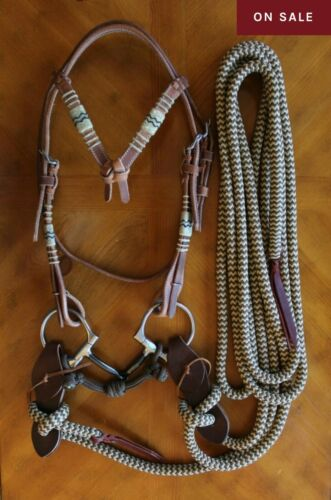Snaffle Bridle Mecate Same Exact Custom Quality Materials As Clinton Anderson