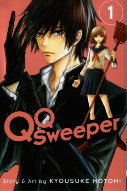QQ Sweeper  Volume 1  Kyousuke Motomi     Manga NEW