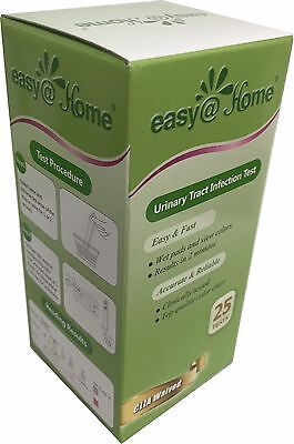 Easy@Home Urinary Tract Infection Test Strips , 25 Tests/Bot
