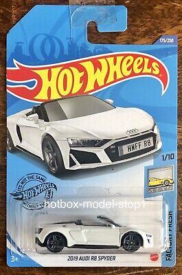 Hot Wheels 2019 Audi R8 Spyder White Factory Fresh New 2020 Die-cast