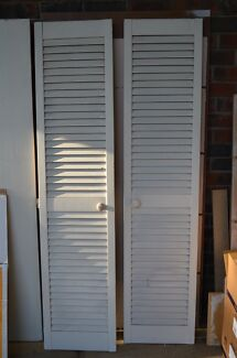 Louver Cupboard Doors Happy Valley Morphett Vale Area Preview