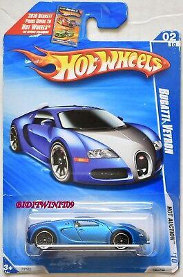 HOT WHEELS 2010 HOT AUCTION BUGATTI  VEYRON #02/10