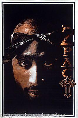 Tupac Shakur Exodus 23x35 Blacklight Poster 1997 2Pac Forever