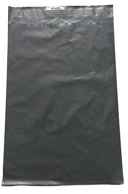 100 x Grey Postal Mailing Bags 10x14