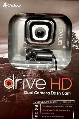 COBRA DRIVE HD DUAL CAMERA DASH CAM