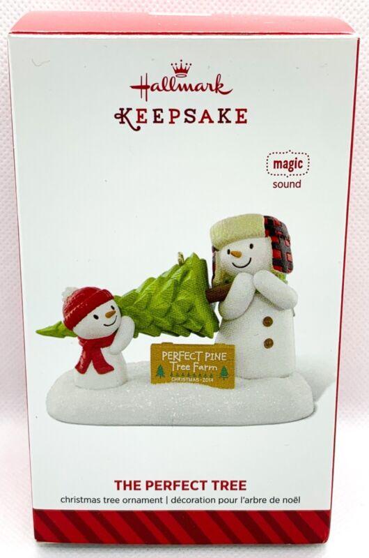 Hallmark Keepsake Jingle Pals The Perfect Tree Ornament 2014 TESTED B