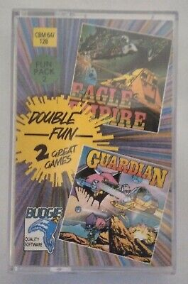 EAGLE EMPIRE & GUARDIAN - RARE - Commodore 64 (C64, C128) - TESTED -see pics