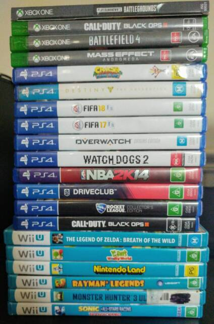 Xbox One Ps4 Ps3 Ps2 Wiiu Wii 3ds Ds Games For Sale Swap