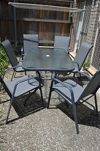 7 Pieces Outdoor Setting Richlands Brisbane South West Preview