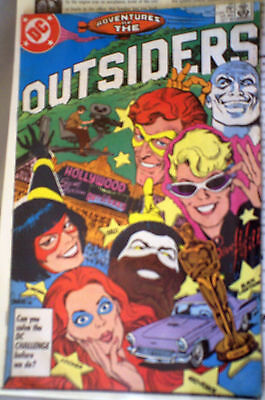 ..The Outsiders 38 OCT 1986 DC COMIC FN- GARCIA LOPEZ VON EEDEN EX-BATMAN TITLE