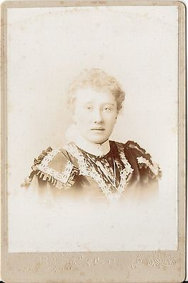 CAB photo Feine Dame - New York USA um 1900