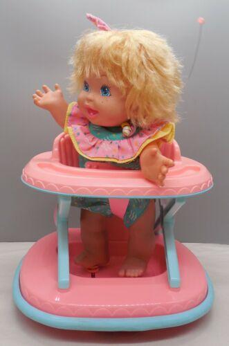 Vintage Mattel Baby Walk n' Roll Doll