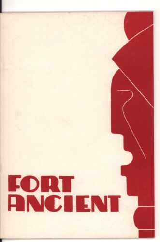 Fort Ancient (Ohio) Guide Book by Richard G. Morgan, 1960, Revised Edition