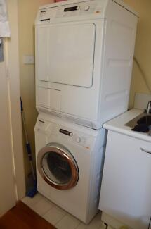 MIELE 7.5kg Washer & 7kg Dryer (Plus Stacker) Woollahra Eastern Suburbs Preview