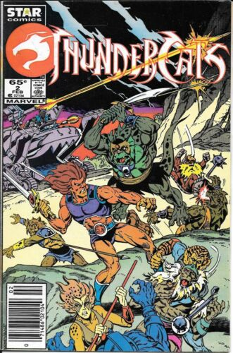 Thundercats #2 Star Comics Newsstand Edition