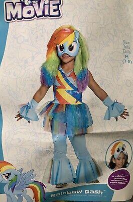 Rainbow Dash My Little Pony Costume (My Little Pony Rainbow Dash Costume.  New, Size)