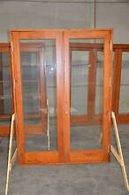 SOLID CEDAR FRENCH DOOR, 1500x2100H, 6mm TOUGHENED GLASS Vineyard Hawkesbury Area Preview