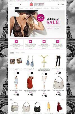 Online Shopstore Ecommerce Website Free Hosting And Installation