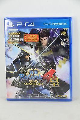 NEW PS4 Sengoku Basara 4~ SUMERAGI (HK  First Print Version,  Japanese)