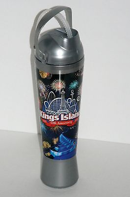 Kings Island Collectible Souvenir Bottle Cup Drink Straw, 2012 Anniversary