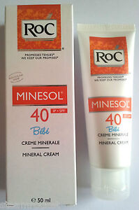 RoC MINESOL Bebe Sun High Protection Mineral Cream SPF40 50ml