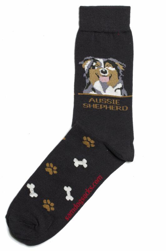 Australian Shepherd Dog Socks Mens