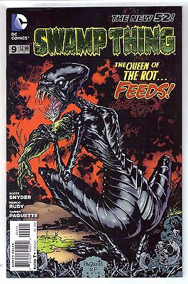 DC Comics! Swamp Thing! Issue 9! New 52!
