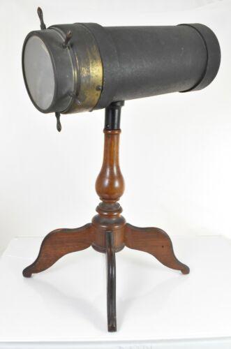 Vintage Original C. G. Bush & Co. parlor kaleidoscope 1800's