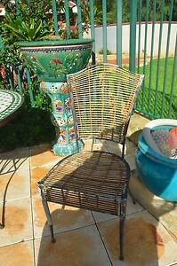 Ceramic Garden Table and 4 chairs Yallingup Busselton Area Preview