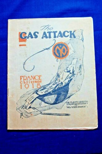 The Gas Attack, France, Christmas, 1918, The 27th Division, ID