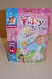 Kids Create Make Your Own Fairy with 6 Moulds