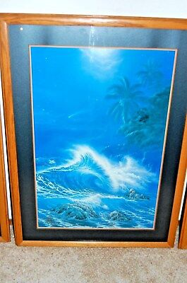 Night Dancer Christian Lassen S/N Limited Edition Lithograph Print Framed