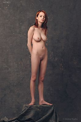 Fine Art Nude Model, Kristin 2085, signed 8.5x11 photo by Craig Morey